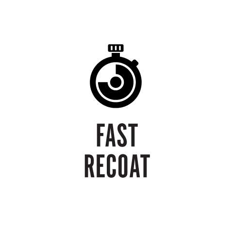 Fast Recoat 2 Hours